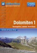 Hikeline Wanderführer Dolomiten - Bd.1