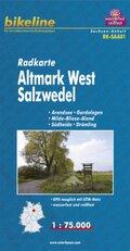 Bikeline Radkarte Altmark West, Salzwedel