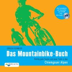 Das Mountainbike-Buch, m. CD-ROM