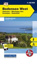 Kümmerly & Frey Outdoorkarte Bodensee West