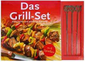 Das Grill-Set (Buch +6 Grillspieße)