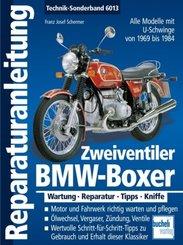 BMW-Boxer  Zweiventiler mit U-Schwinge   1969-1985