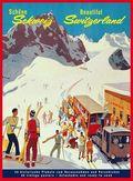 Schöne Schweiz, Postkartenbuch; Beautiful Switzerland