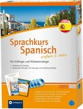 Sprachkurs Spanisch einfach & aktiv (Lehrbuch m. 4 Audio-CDs)