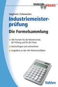 Industriemeisterprüfung, Die Formelsammlung