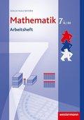 Mathematik, Realschule Bayern (2009): 7. Jahrgangsstufe, Arbeitsheft, Wahlpflichtfächergruppe II/III
