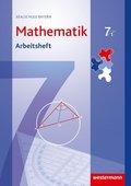 Mathematik, Realschule Bayern (2009): 7. Jahrgangsstufe, Arbeitsheft, Wahlpflichtfächergruppe I