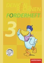 Denken und Rechnen, Zusatzmaterialien, Ausgabe 2011: Forderheft Klasse 3