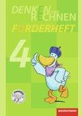Denken und Rechnen, Zusatzmaterialien, Ausgabe 2011: Forderheft Klasse 4