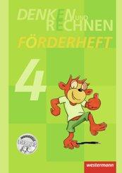 Denken und Rechnen, Zusatzmaterialien, Ausgabe 2011: Förderheft Klasse 4