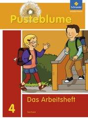 Pusteblume. Das Sprachbuch, Ausgabe 2011 für Sachsen: 4. Schuljahr, Arbeitsheft
