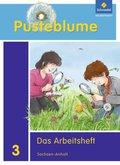 Pusteblume. Das Sachbuch, Ausgabe 2011 für Sachsen-Anhalt: 3. Schuljahr, Das Arbeitsheft + FIT MIT