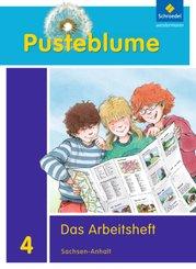 Pusteblume. Das Sachbuch, Ausgabe 2011 für Sachsen-Anhalt: 4. Schuljahr, Das Arbeitsheft + FIT MIT