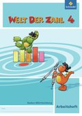Welt der Zahl, Ausgabe 2010 Baden-Württemberg: 4. Schuljahr, Arbeitsheft
