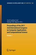 Proceedings of the 2011 2nd International Congress on Computer Applications and Computational Science