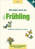 Mit Liedern durch den Frühling, m. Audio-CD