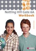 Notting Hill Gate, Ausgabe 2007: 10. Schuljahr, Workbook (Advanced Course) mit Audio-CD; Bd.6A