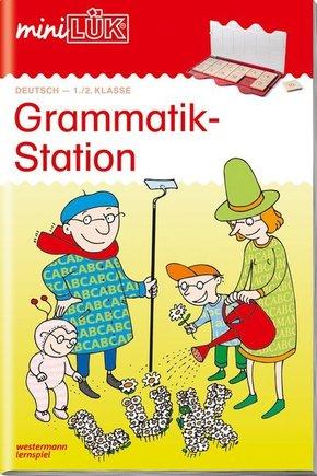 miniLÜK: Grammatikstation 1./2. Klasse