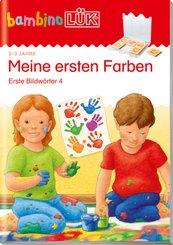 bambinoLÜK-Übungshefte: Meine ersten Farben, Erste Bildwörter 4