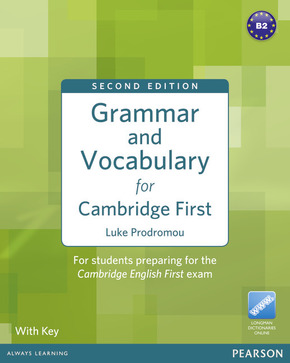 Grammar and Vocabulary for Cambridge First, with Key