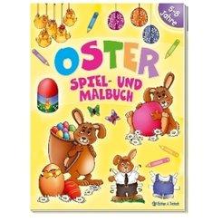 Oster-Spiel- und Malbuch