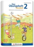 Das Übungsheft Deutsch: 2. Schuljahr, Übungsheft