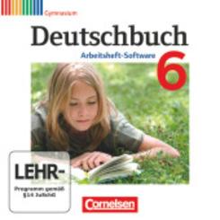 Deutschbuch, Gymnasium, Arbeitsheft-Software: 6. Schuljahr, Übungs-CD-ROM zum Arbeitsheft