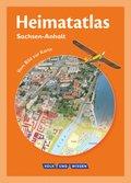 Heimatatlas: Heimatatlas für die Grundschule, Sachsen-Anhalt, Neubearbeitung