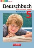 Deutschbuch, Differenzierende Ausgabe Hessen: 5. Schuljahr, Arbeitsheft