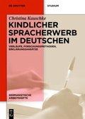 Kindlicher Spracherwerb im Deutschen