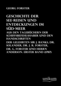 Geschichte der See-Reisen und Entdeckungen im Süd-Meer - Bd.1