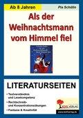 """Cornelia Funke """"Als der Weihnachtsmann vom Himmel fiel"""" - Literaturseiten"""