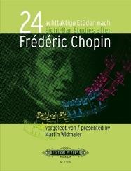 24 achttaktige Etüden nach Frédéric Chopin, für Klavier
