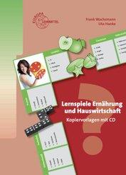 Lernspiele Ernährung und Hauswirtschaft, m. CD-ROM