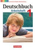 Deutschbuch, Gymnasium Baden-Württemberg, Neubearbeitung: 5. Schuljahr, Arbeitsheft; Bd.1