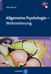 Allgemeine Psychologie - Wahrnehmung