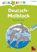 Deutsch-Malblock; 1. /2. Klasse. Wortarten üben