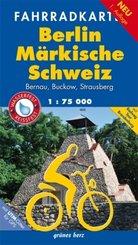 Fahrradkarte Berlin, Märkische Schweiz
