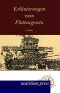 Erläuterungen zum Flottengesetz (1898)