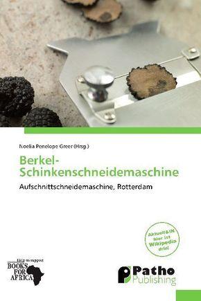 Berkel-Schinkenschneidemaschine