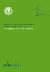Selbstreflexion in der Musik/Wissenschaft