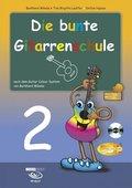 Die bunte Gitarrenschule, m. Audio-CD - Tl.2