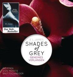 Shades of Grey - Geheimes Verlangen, 2 MP3-CDs