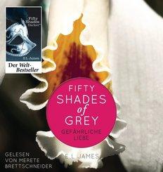 Fifty Shades of Grey - Gefährliche Liebe, 2 MP3-CDs