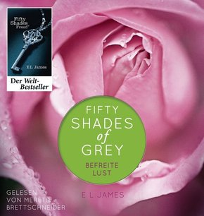 Fifty Shades of Grey. Befreite Lust, 2 MP3-CDs