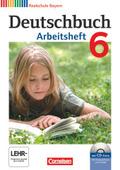 Deutschbuch, Realschule Bayern: 6. Jahrgangsstufe, Arbeitsheft mit CD-ROM