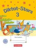 Diktat-Stars: 3. Schuljahr - Übungsheft