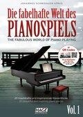 Die fabelhafte Welt des Pianospiels, m. Audio-CD