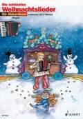 Die schönsten Weihnachtslieder, für 1-2 Akkordeons