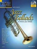 Jazz Ballads, für Trompete, m. Audio-CD - Vol.1